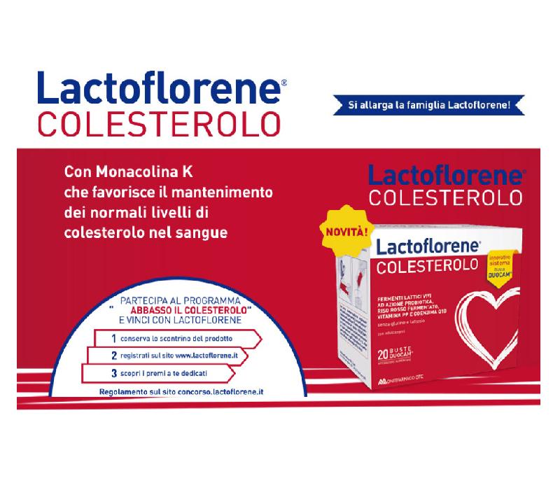 Lactoflorene colesterolo 20buste